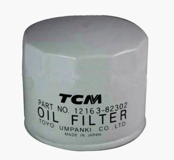 White Color Forklift Truck Components 0.6KG Oil Filter For TCM Forklift